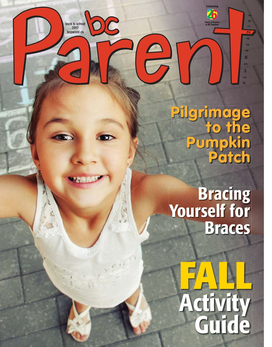 Back to School cover of BC Parent