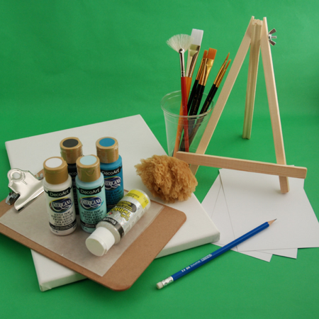 Pip and Vix art kit