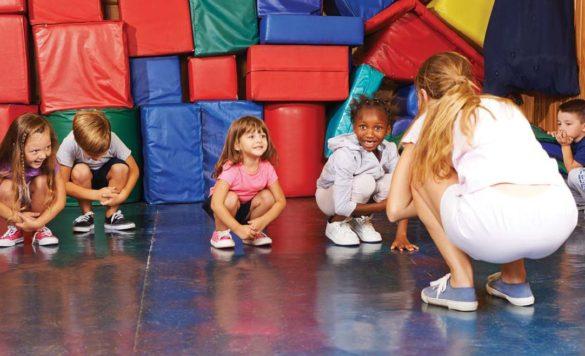 kids after-school gymnastics
