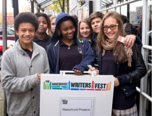 Five Events for Readers K-12 at the Vancouver Writers Fest