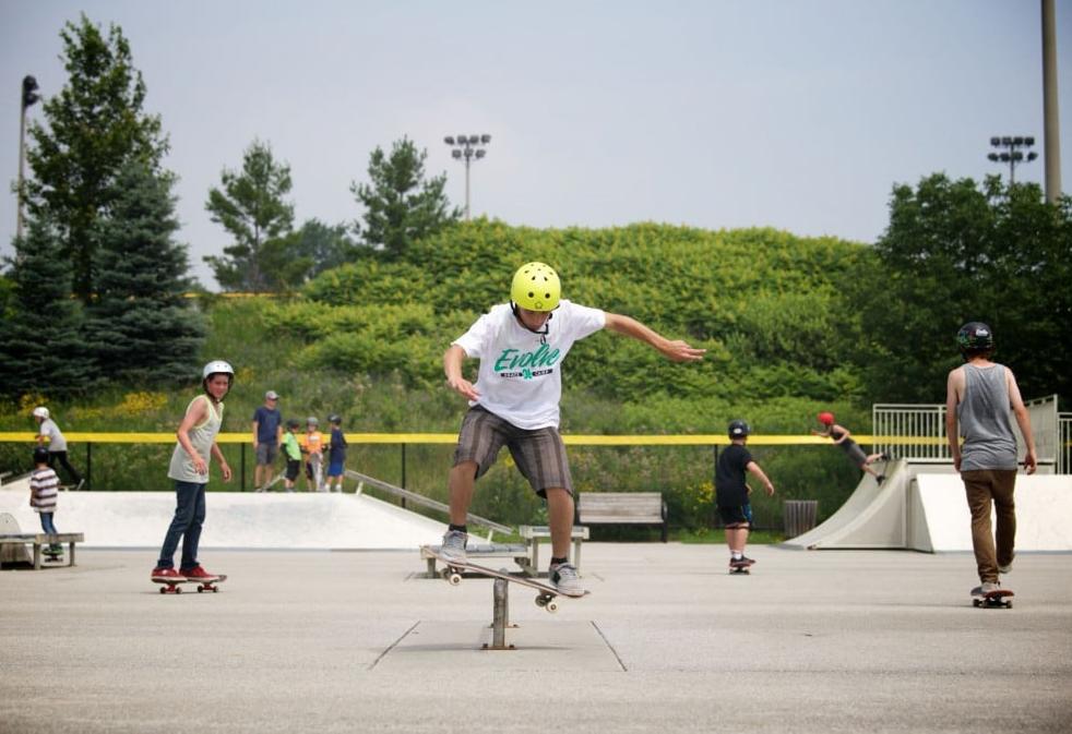 Evolve Skateboard camp