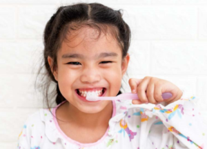 All children can grow up cavity-free with good dental care