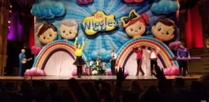 It was a party with The Wiggles!