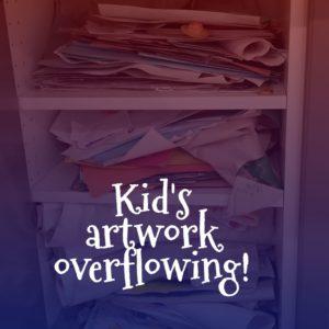 artwork overflowing
