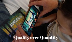 Screen time during isolation – Quality over quantity