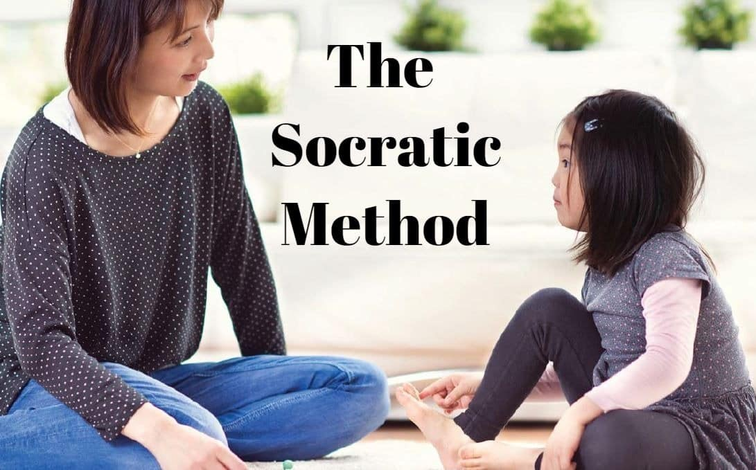 Socratic Method - Mother talking to daughter