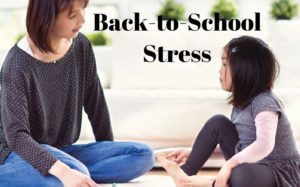 back to school stress