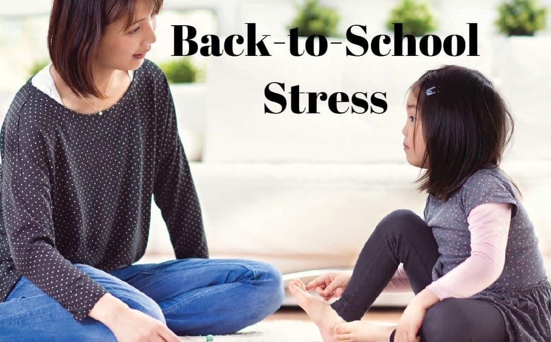 back to school stress
