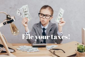 Important! File your 2019 taxes or risk losing your CCB