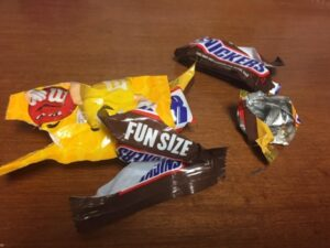 Halloween Candy – what to do with it!!!!